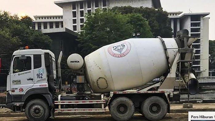SIG Pasok Kebutuhan Beton Untuk Renovasi Masjid Istiqlal