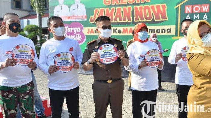 Covid-19 Mengganas, Gresik JAMAN NOW ajak warga Dirumah Selama PPKM Darurat
