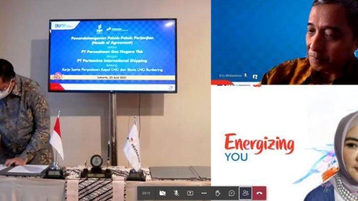 Perkuat Sinergi Pertamina Group, PGN & PIS Tingkatkan Utilitas LNG