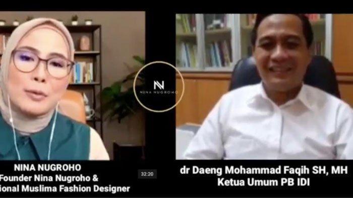 Di Nina Nugroho Solution Dr Daeng M Faqih, Ketum PB IDI : Pentingnya Duet Maut Melawan Covid-19
