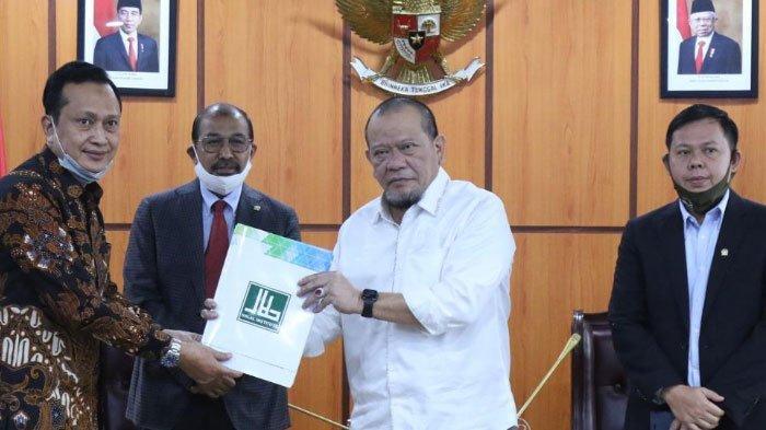 Terima Halal Institute, Pimpinan DPD RI Ingatkan Potensi Bisnis Syariah