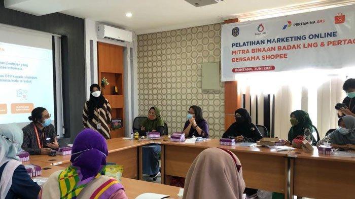 Subholding Gas Grup Kolaborasi Dengan Shopee Indonesia Tingkatkan Layanan Gas Bumi dan UMKM