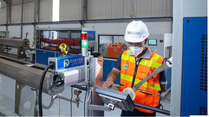 Pabrik Pipa PE PT Pgas Solution Dukung Efisiensi Program Jargas dan TKDN