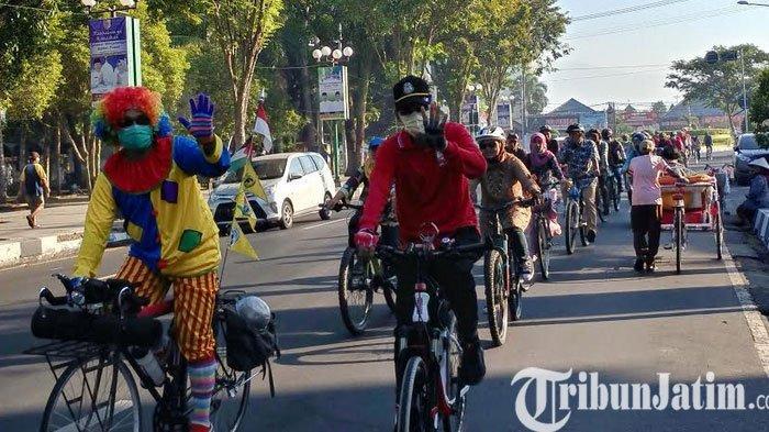 Kampanye 'Bike to Work' di Jember, Peringati Hari Sepeda Sedunia 3 Juni
