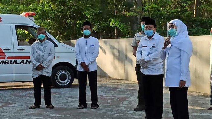 Adik Ipar Khofifah Meninggal Dunia Terpapar Covid-19, Pemakaman Terapkan Protokol Kesehatan