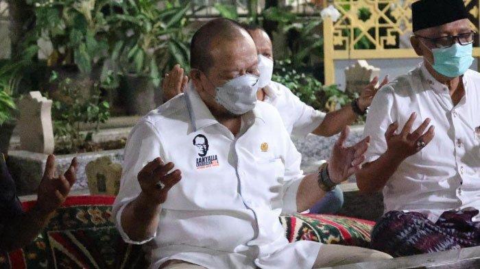 Lanjutkan Kunker ke Surabaya, LaNyalla, Ketua DPD RI Berziarah ke Makam Gus Dur