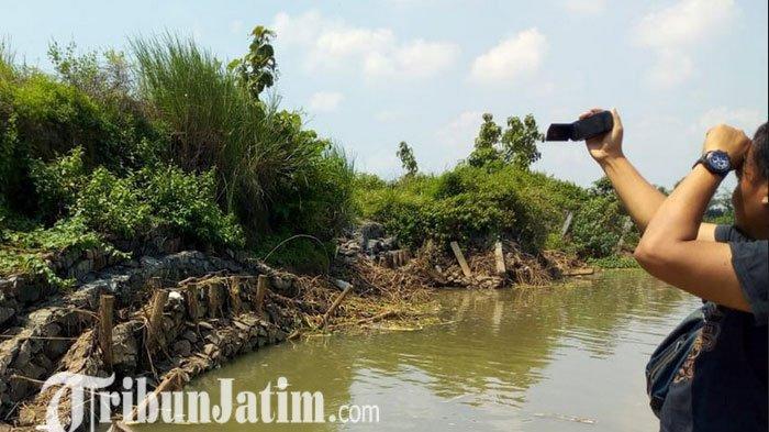 Tanggul Sungai Brantas di Jombang Amblas, 5 Desa dan Ribuan Hektare Lahan Pertanian Terancam
