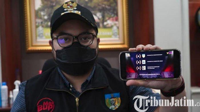 Kabupaten Kediri Raih Prestasi Terbaik Pertama Dalam BKN Award 2021