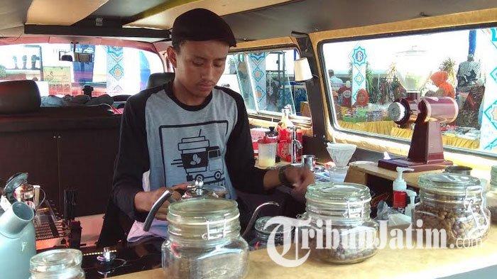 Coffee VW Combi Nonkrong di SLG Kediri,  Cara Penikmat Kopi Kenalkan Produk Lokal