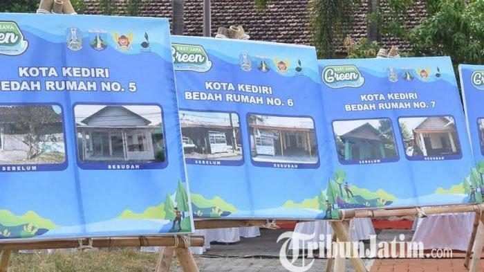 Kolaborasi Pramuka Melakukan Bedah Rumah Layak Huni di Kota Kediri