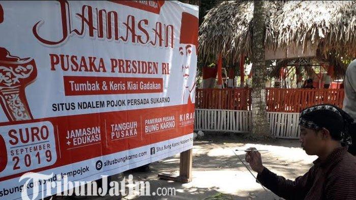 Setelah Dijamas, Keris dan Tombak Bung Karno Dipamerkan di Rumah Persada Sukarno Wates Kediri