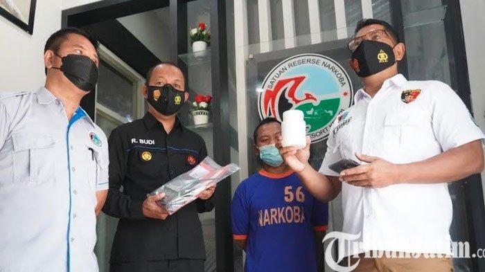Polres Kediri Bekuk Seorang Diduga Bandar Narkoba Asal Madiun