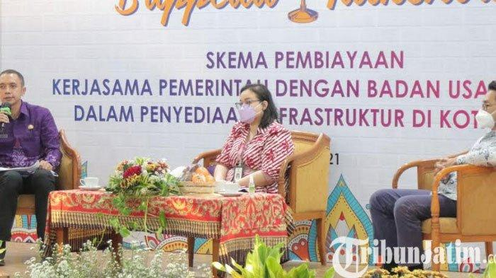 Pemkot Kediri Gelar Talkshow Skema Alternatif Pembangunan Infrastruktur