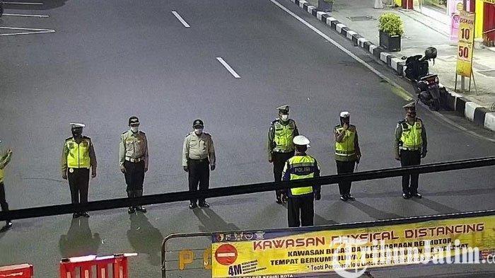 Selama PPKM Darurat Ada 6 Titik Penyekatan Jalan di Kota Kediri