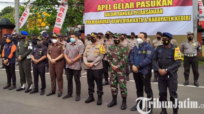 Amankan PPKM Darurat, Polres Kediri Kota Bentuk Tujuh Satgas