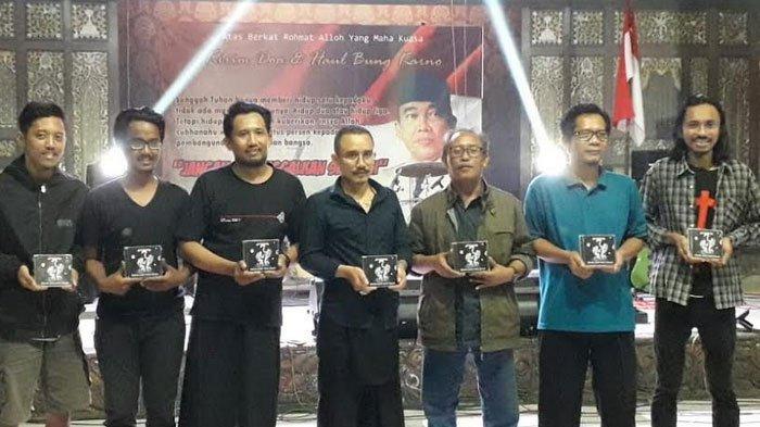 Komunitas Seni di Kediri Launching Album Sang Saka dan Lagu Soekarno