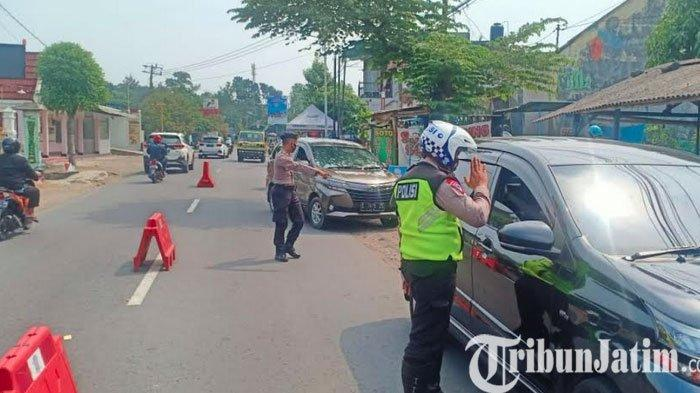 Penyekatan di Kabupaten Kediri Resmi Berakhir, Inilah Jumlah Kendaraan Harus Putar Balik