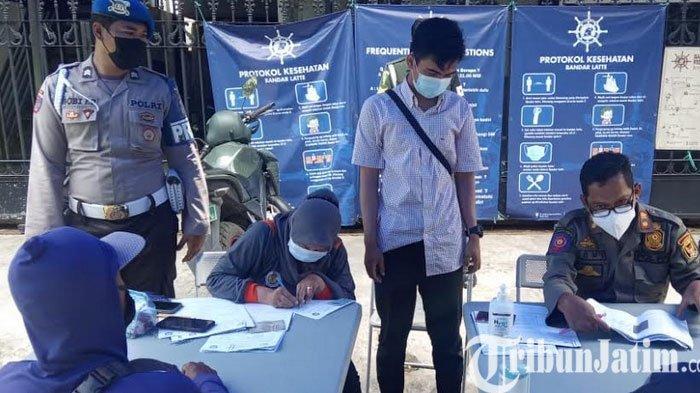 Operasi Yustisi Penegakan Protokol Kesehatan di KOta Kediri Jaring Pelanggar Prokes