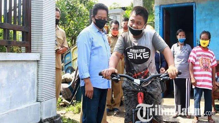 Impian Siswa SD di Kota Kediri  Punya Sepeda Baru Untuk Berangkat Sekolah Terwujud