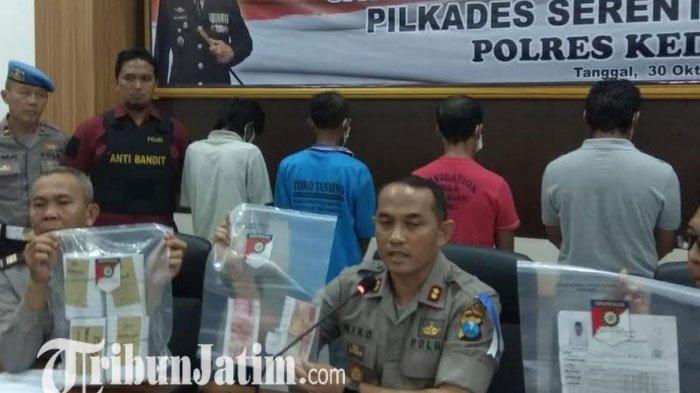 Modus Suap Pilkades di Kabupaten Kediri, Kupon Ditukar Dengan Beras 10 Kg