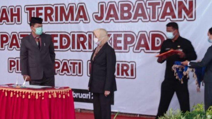 Sekda Kabupaten Kediri Dede Sujana Resmi Dilantik sebagai PLH Bupati Kediri
