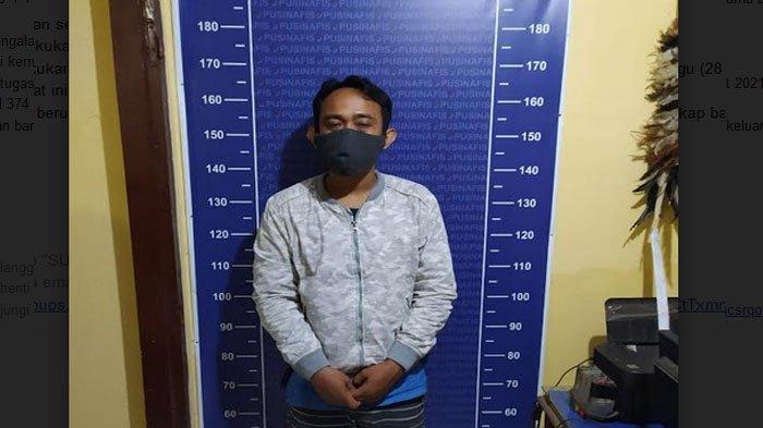 Pria di Kediri ini Gelapkan Uang Setoran Perusahaan Ratusan Juta Diamankan Polisi