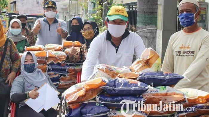 Penyaluran Kartu Sahabat di Kota Kediri Melibatkan 567 Tukang Becak