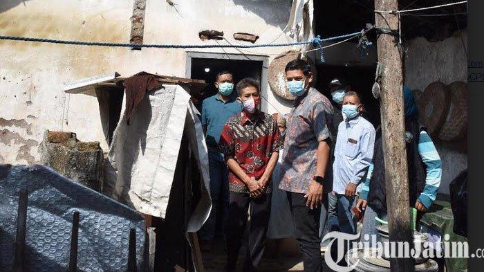 Tidak Layak Huni Rumah Janda Sebatang Kara di KOta Kediri  Bakal  Diperbaiki