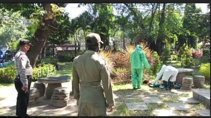 Warga Jember Ditemukan Tergeletak dan Tak Sadar di Taman Harmoni Kota Kediri