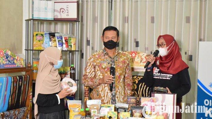 Lewat Koperasi, Bupati  Lamongan Yuhronur Bangkitkan UMKM