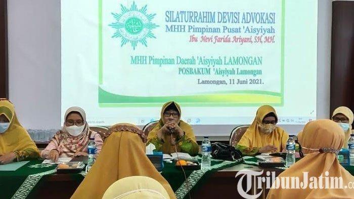 Ketua Divisi Advokasi Hukum Majelis Hukum dan HAM Pusat Temui Aisyiyah Lamongan, Ini Tujuannya