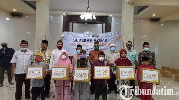 Hingga Hari ke 24 Ramadan , Lazismu Lamongan Telah Salurkan 500 Paket  Kado Ramadan