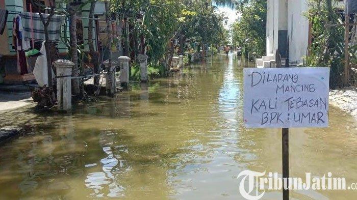 Banjir Kembali Landa 49 Desa di 6 Kecamatan di Lamongan, Warga Klaim Jalan Desa yang Kebanjiran