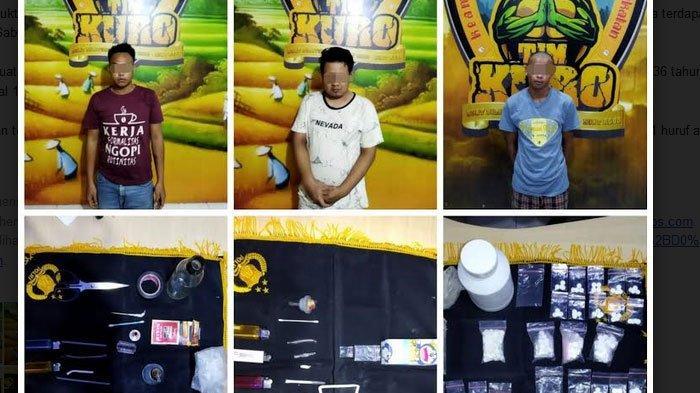 3 Pengedar Sabu Dan Pil Koplo Lumajang Diringkus Polisi