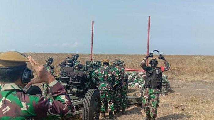 TNI AD Gelar Latihan Tempur di Lumajang, Deteksi Musuh Dari Jarak 250 Kilometer