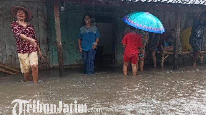 Hujan Lebat di Kabupaten Madiun, Air Meluap di 12 Desa