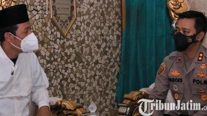 Harlah ke-95 NU, Kapolres Madiun Silaturahmi ke Rumah Ketua PCNU Madiun
