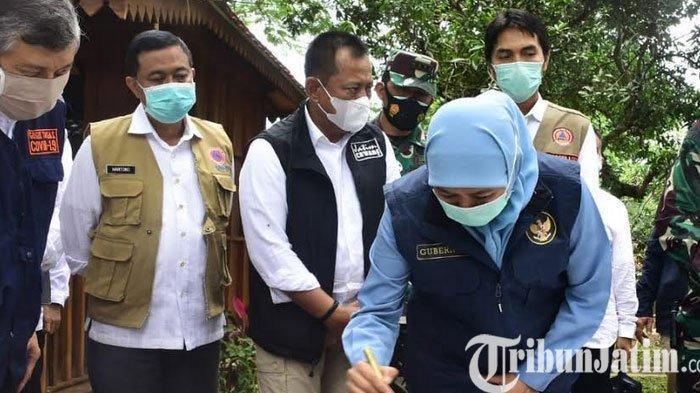 Gubernur Jatim, Khofifah Resmikan RS Lapangan Joglo Dungus Madun