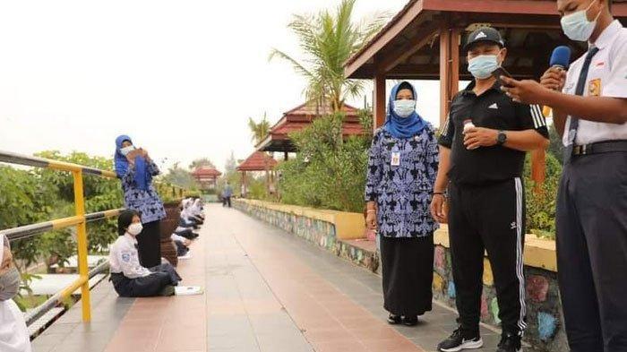 Wali Kota Madiun Uji Coba Pembelajaran Tatap Muka Berkonsep Outdoor Learning