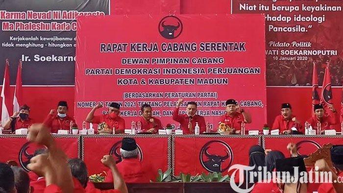 PDIP Kota Madiun Lakukan Persiapan Menuju Hattrick Pemilu 2024