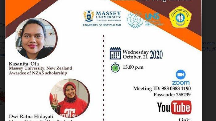 Agribisnis UTM, UNS Solo, Massey University New Zealand Gelar International Joint Lecture