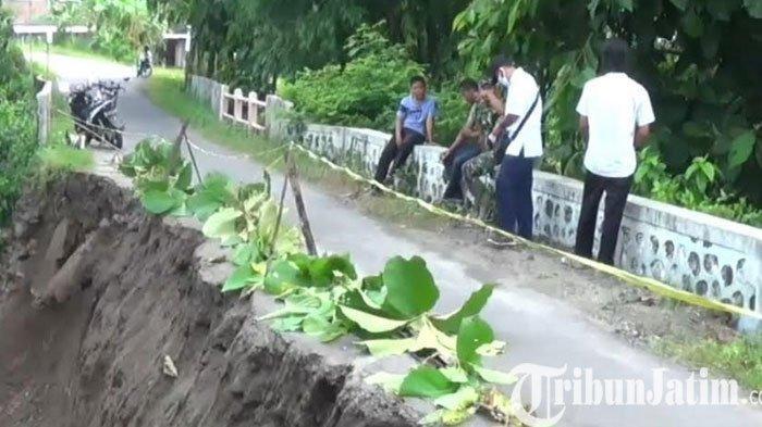 Diduga Kurang Perawatan, Jembatan Penghubung Atar Desa di Magetan Terancam Ambrol