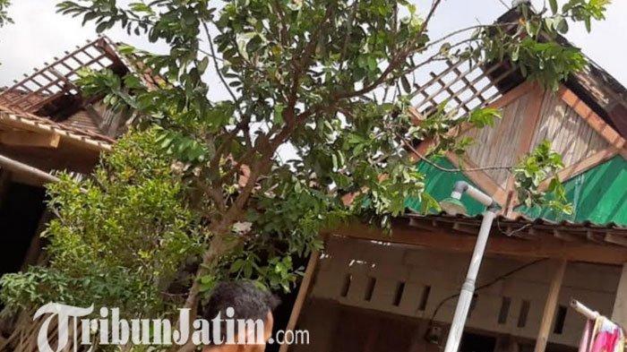 Angin Kencang Sapu Sebagian Wilayah Magetan, 44 Rumah di 7 RT Rusak
