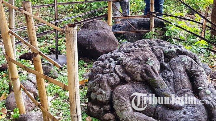 Warga Magetan Temukan Situs Arkeologi di Punden Watu Ilir Bangsri