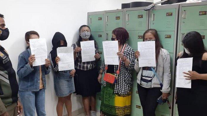 Sedang Menjajakan Diri, 6 PSK di Kota Malang Kena Razia