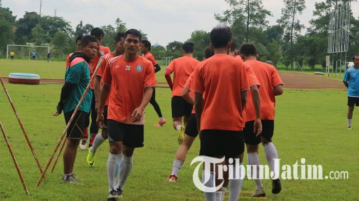 Jalani Game Internal Lawan Akademi, Arema FC Masih Belum Maksimal