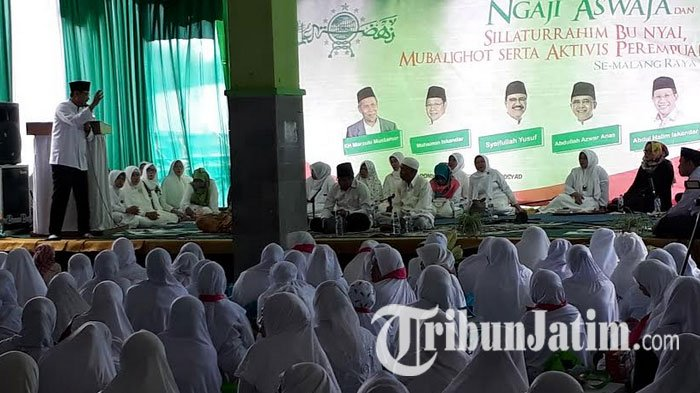 Gus Ipul  Mulai Tebar Pesona Pada Ibu-Ibu di Kota Malang