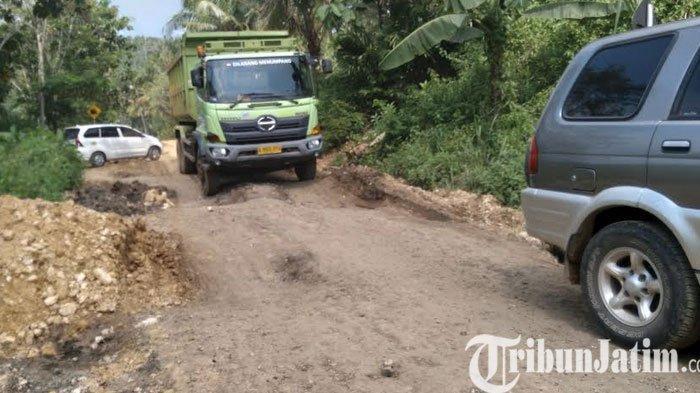 Perbaikan Jalan Rusak di Malang Selatan Tunggu JLS Rampung Pada 2022