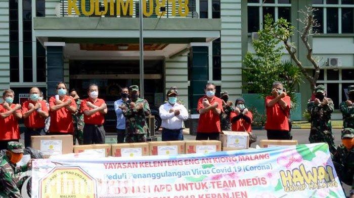 Yayasan Klenteng Eng An Kiong Beri Bantuan Kodim di Malang dan Kota Batu