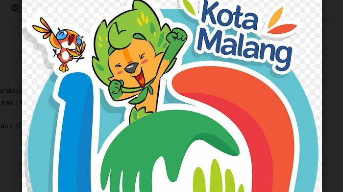 Logo HUT ke-107 Kota Malang Penuh Makna